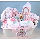 Bath Bedtime Baby Deluxe Gift Set for Girl