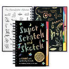 Super Scratch and Sketch Traceable Activity Book