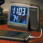 Atomic Projection Alarm Clock with Weather Info and USB Charging
