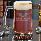 Take Flight Pilotwings Gold Rim Beer Mug