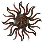 Sunface Rust-Resistant Metal Wall Decor