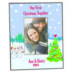 Our First Christmas Together Frame