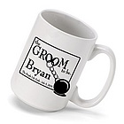 Personalized 'Groom to Be' Coffee Mug