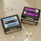 Personalized Kids Cash Box Safe
