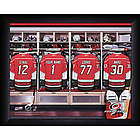 Personalized Carolina Hurricanes Locker Room Print
