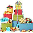Happy Easter Treats Gift Tower
