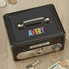 Personalized Kids Safe Cash Box
