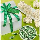 St. Patrick's Day Popcorn and Sweets Gift Box
