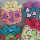 12 Birthday Gifts Cutout Sugar Cookie Crisp Gift Box