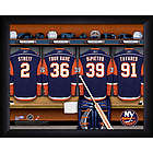 Personalized New York Islanders Locker Room Print