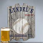 Vintage Baseball Man Cave Sign