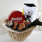 Graduation Bear with Fresh Baked Cookies