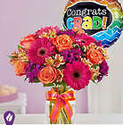 Sugar 'n' Spice Large Graduation Bouquet