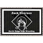 Personalized Wrestling Afghan