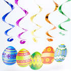 Easter Egg Whirls Decorations