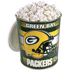 Green Bay Packers Popcorn Gift Tin - One Gallon
