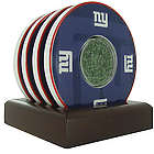 New York Giants Coasters with Game Used Turf