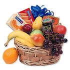 Fruit & Goodies Gift Basket