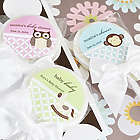 Personalized Baby Shower Lollipop Favors