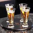 Round Beer Flight Sampler with Glass Set