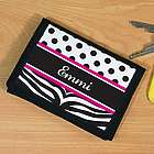 Personalized Zebra Print Wallet
