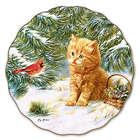 Smitten Kitten Porcelain Plate