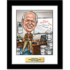 Teacher Fully Custom Drawn Caricature