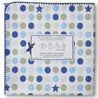 Ultimate Swaddling Blanket with Blue Star Design