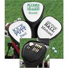 Kiss My Putt Funny Personalized Golf Club Cover