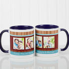Blue Personalized Coffee Mug