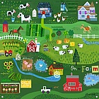 On the Farm Mural Banner
