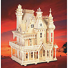 Fantasy Villa Dollhouse with Furniture Wooden 3-D Puzzle