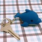 Light up Talking Dolphin Keychain