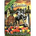 Boston Images Playing Cards
