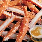 Alaskan King Crab Legs 1-lb