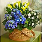 Joyful Blooms Garden Basket