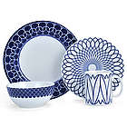 Lavina Cobalt 4-Piece Place Setting