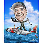 Military Custom Caricature Artwork