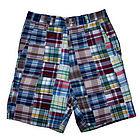 Men's Chesapeake Bay Madras Patchwork Shorts