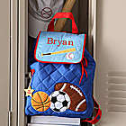 Boys Personalized Sports Backpack