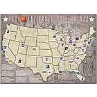 NBA Arenas Tracking Map
