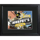 Iowa Hawkeyes Personalized Tavern Sign Print with Matted Frame