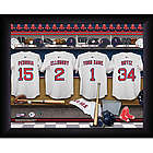 Personalized Boston Red Sox MLB Locker Room Print
