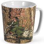 Stoneware Camouflage Coffee Mug