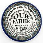 Ceramic Our Father Decorative Plate