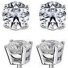 2.25 Carat Diamond Stud Earrings