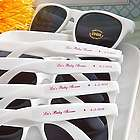 Too Cool Sunglasses with Personalized Labels