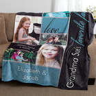My Favorite Faces Personalized Fleece Blanket