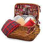 New York Giants Highlander Rattan Picnic Basket