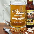 Engraved Beer Pong Mug